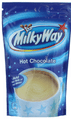 Variety Pack containing Bounty Coconut, Milky Way &  Maltesers Hot Chocolate Pouches
